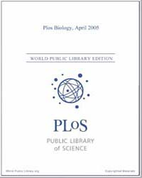 Monthly Biology Journal : Plos Biology A... Volume 3 by Bloom, Theodora
