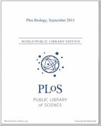 Monthly Biology Journal : Plos Biology S... Volume 9 by Bloom, Theodora