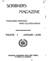 Scribner's Magazine Volume 0001 Issue 1 ... by Charles Scribner's Sons