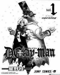 D.Gray-Man 1 : Opening Volume D.Gray-Man 1 : Opening by Hoshino, Katsura