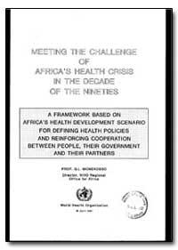 World Health Organization : Regioinal Of... by G. L. Monekosso, Dr.