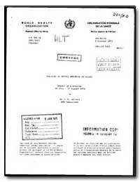World Health Organization : Regioinal Of... by J. O. Akinosi, Dr.