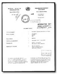 World Health Organization : Regioinal Of... by M. Kiereini, Mrs.