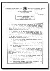 World Health Organization : Regioinal Of... by World Health Organization