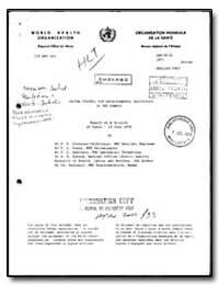 World Health Organization : Regioinal Of... by F. E. Gonzalez-Valdivieso