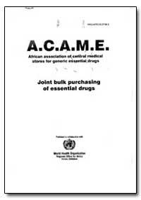 Regional Office for Africa : 1994-99 ; W... by World Health Organization
