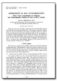 Bulletin of the World Health Organizatio... by Konrad Birkhaug