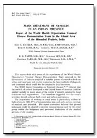 Bulletin of the World Health Organizatio... by John C. Cutler