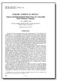 Bulletin of the World Health Organizatio... by E. I. Grin