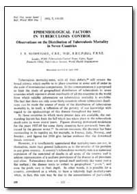 Bulletin of the World Health Organizatio... by J. B. Mcdougall