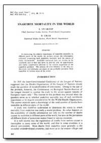 Bulletin of the World Health Organizatio... by S. Swaroop