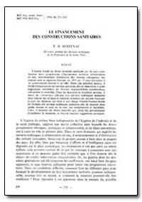 Bulletin of the World Health Organizatio... by F. B. Sentesac