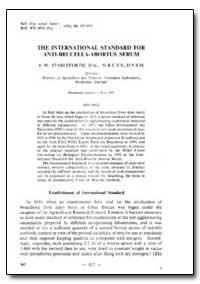 Bulletin of the World Health Organizatio... by A. W. Stableforth