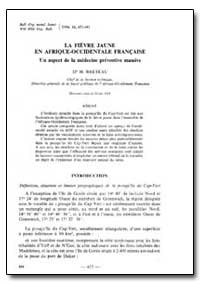 Bulletin of the World Health Organizatio... by H. Breteau, Dr.
