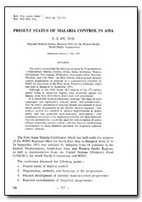 Bulletin of the World Health Organizatio... by F. J. Dy, Dr.