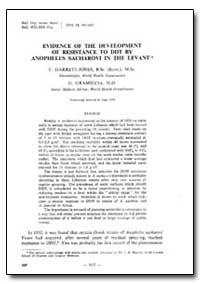 Bulletin of the World Health Organizatio... by C. Garrett-Jones