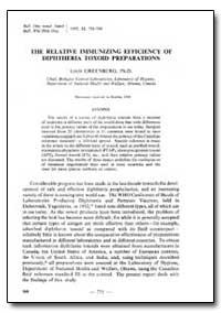 Bulletin of the World Health Organizatio... by Louis Greenberg