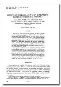 Bulletin of the World Health Organizatio... by Chujo Cho, V. M. D.
