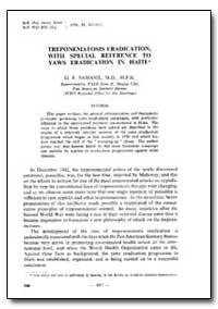 Bulletin of the World Health Organizatio... by G. E. Samame