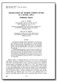 Bulletin of the World Health Organizatio... by Carl O. Mohr
