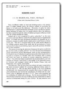 Bulletin of the World Health Organizatio... by J. C. M. Holman