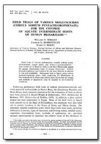 Bulletin of the World Health Organizatio... by Willard H. Wright