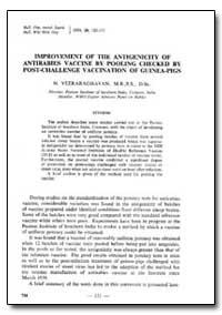 Bulletin of the World Health Organizatio... by N. Veeraraghavan, Dr.