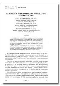 Bulletin of the World Health Organizatio... by Julius Sigurjonsson, Dr.