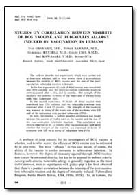 Bulletin of the World Health Organizatio... by Yon Obayashi