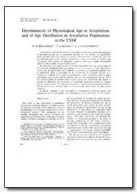 Bulletin of the World Health Organizatio... by W. N. Beklemishev
