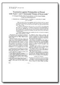 Bulletin of the World Health Organizatio... by F. Przesmycki