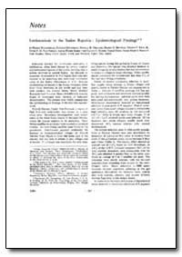 Bulletin of the World Health Organizatio... by Harry Hoogstraal