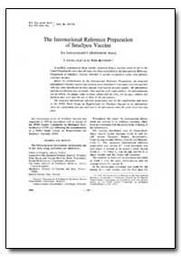 Bulletin of the World Health Organizatio... by P. Krag