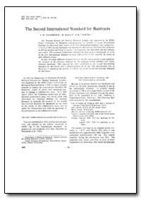 Bulletin of the World Health Organizatio... by J. W. Lightbown