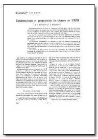 Bulletin of the World Health Organizatio... by K. I. Matveev