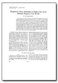Bulletin of the World Health Organizatio... by D. Taylor-Robinson