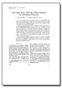 Bulletin of the World Health Organizatio... by L. J. Bruce-Chwat