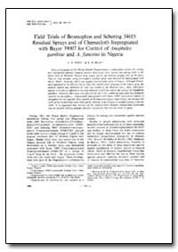 Bulletin of the World Health Organizatio... by C. P. Pant
