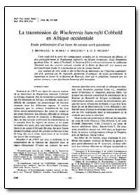 Bulletin of the World Health Organizatio... by J. Brengues
