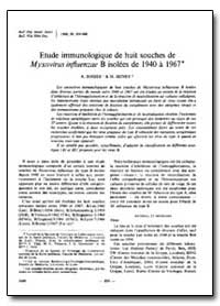 Bulletin of the World Health Organizatio... by R. Sohier