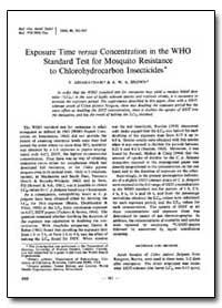 Bulletin of the World Health Organizatio... by V. Ariaratnam