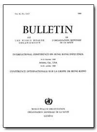 Bulletin of the World Health Organizatio... by J. H. Brown