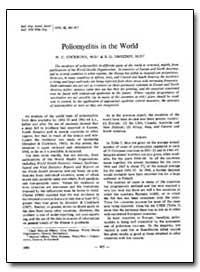 Bulletin of the World Health Organizatio... by W. Charles Cockburn