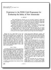 Bulletin of the World Health Organizatio... by A. Arnan