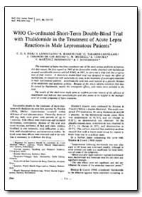 Bulletin of the World Health Organizatio... by C. G. S. Iyer