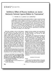 Bulletin of the World Health Organizatio... by T. J. Wiktor