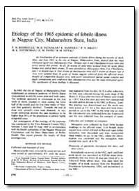 Bulletin of the World Health Organizatio... by F. M. Rodrigues