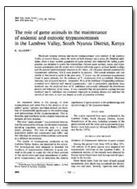 Bulletin of the World Health Organizatio... by R. Allsopp