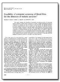 Bulletin of the World Health Organizatio... by Murray Eden