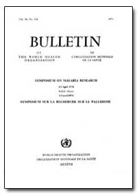 Bulletin of the World Health Organizatio... by T. Lepes